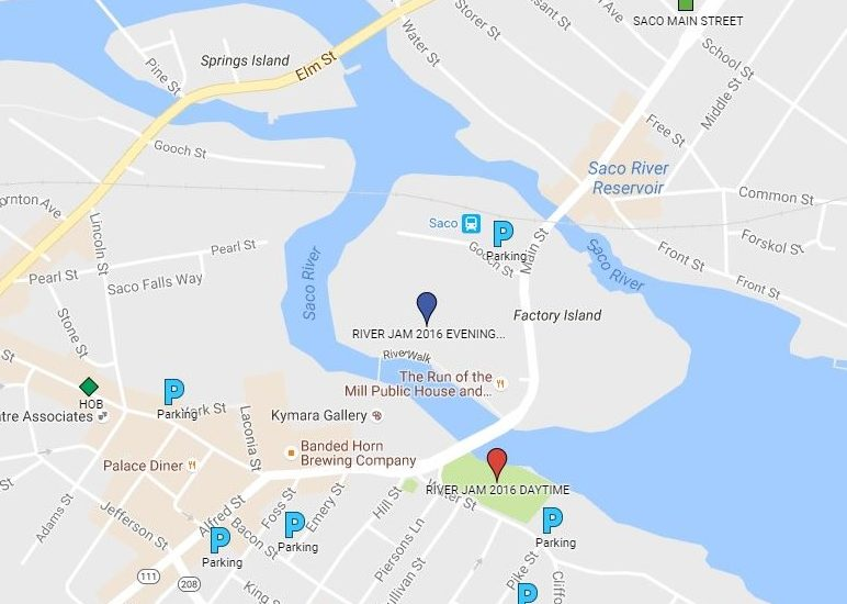 RiverJam2016_location_and_parking